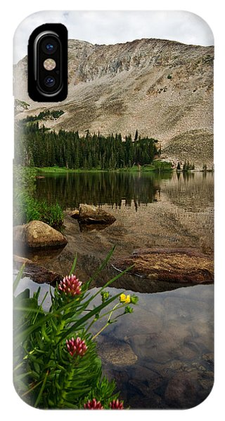 Mitchell Lake Reflections IPhone Case