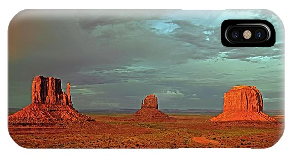 Physical iPhone Case - Mitten Buttes by Bildagentur-online/mcphoto-schulz