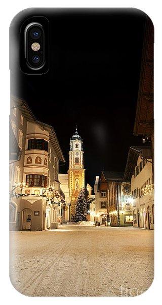Mittenwald In Winter IPhone Case