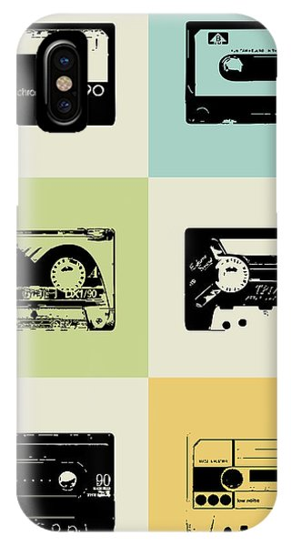 Humor iPhone Case - Mix Tape Poster by Naxart Studio