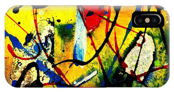 Mixed Media 104 IPhone Case