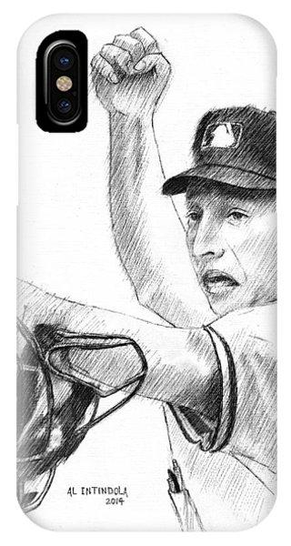 Mlb Umpire  Phil Cuzzi IPhone Case
