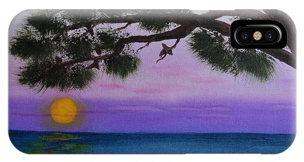 Mobile Bay Sunset IPhone Case