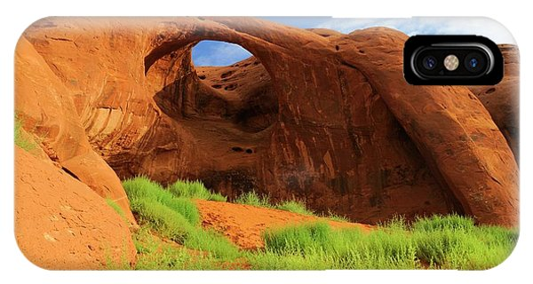 Physical iPhone Case - Moccasin Arch by Bildagentur-online/mcphoto-schulz