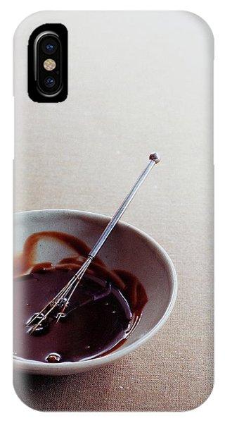 Mocha Caramel Sauce IPhone Case