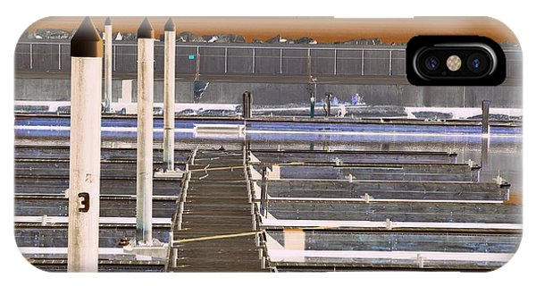IPhone Case featuring the photograph Mocha Dock 2 by Richard Ricci