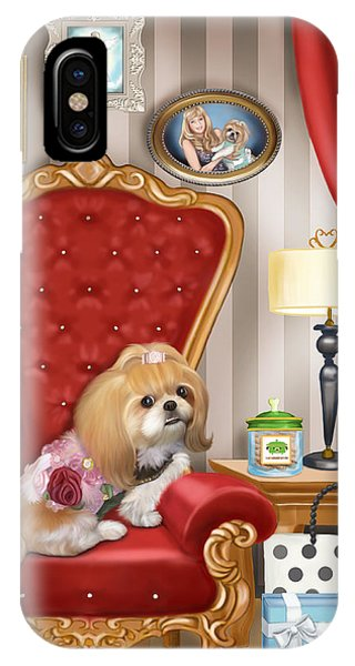 Mocha S Living Room IPhone Case