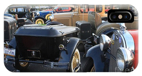 Model A With Trailor Phone Case by Connie Mueller
