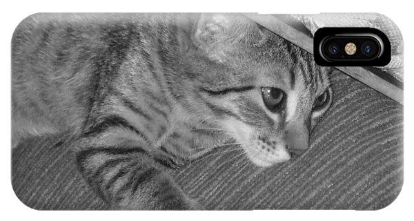 iPhone Case - Model Kitten by Pharris Art
