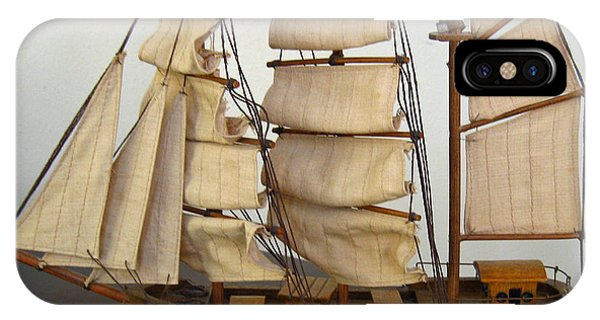 Model Sailing Ship IPhone Case