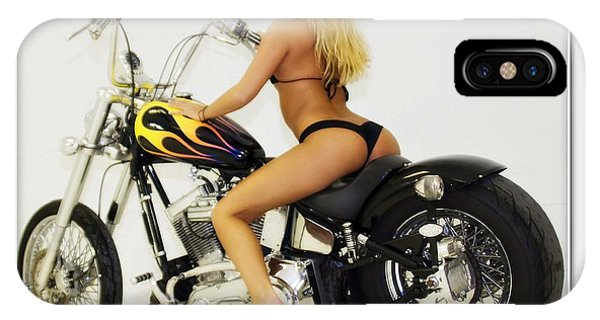 Models And Motorcycles_k IPhone Case