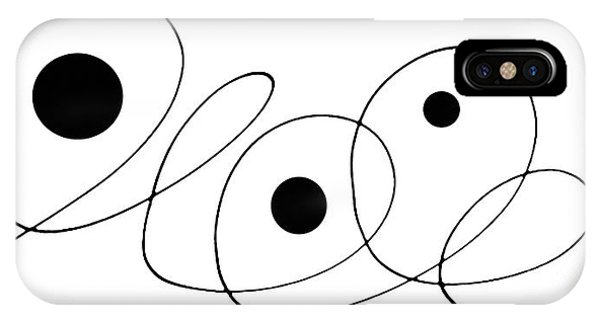 Century iPhone Case - Modern Art - To The Point - By Sharon Cummings by Sharon Cummings