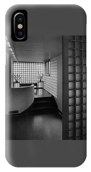 Modern Hallway IPhone Case