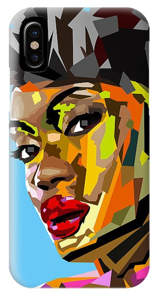 Lupita iPhone Case - Modern Woman by Anthony Mwangi