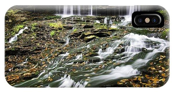 Mohawk Falls 1 IPhone Case