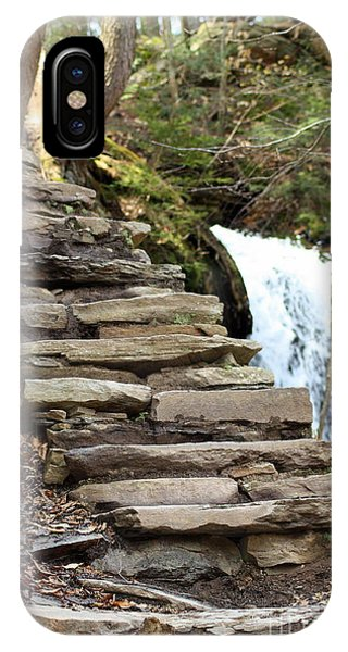 Mohawk Falls Steps IPhone Case