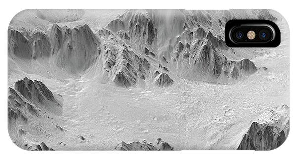 Mojave Crater Phone Case by Jpl-caltech/university Of Arizona/nasa/science Photo Library