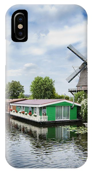 Molen Van Sloten And River IPhone Case