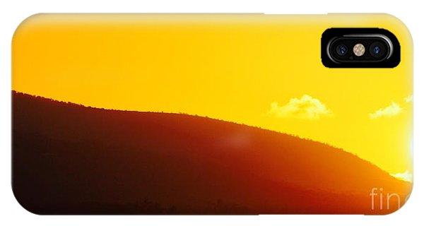 Molokai Sunrise IPhone Case