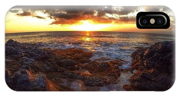 Follow iPhone Case - Molokai Sunset by Brian Governale