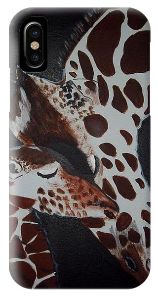 Momma And Baby Phone Case by Donna Bird