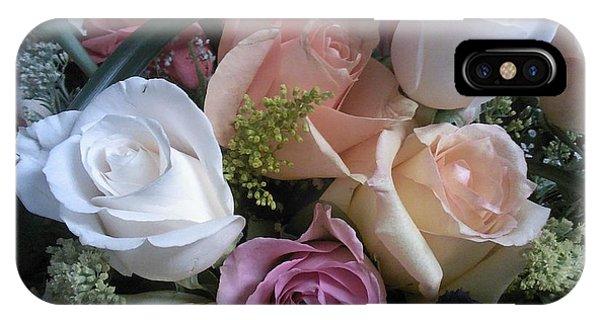 Moms Birthday Roses IPhone Case
