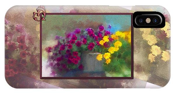 Moms Garden Art IPhone Case