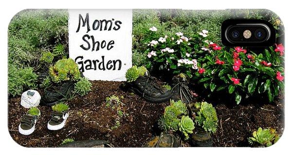 Moms Shoe Garden IPhone Case