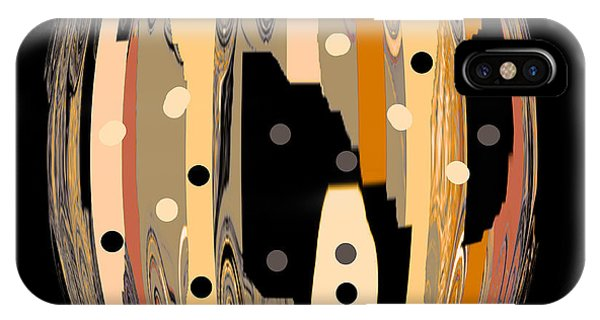 Mustard iPhone Case - Mom's Venetian Glass Vase 14 by Natalie Holland
