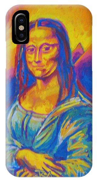 Mona Phone Case by Jedidiah Morley