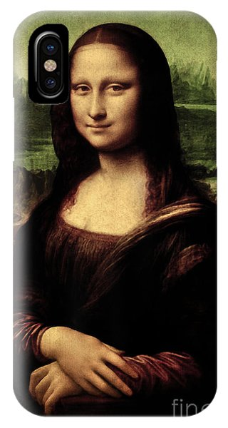 Mona Lisa Painting IPhone Case