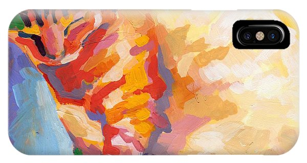 Tabby iPhone Case - Mona Lisa's Rainbow by Kimberly Santini