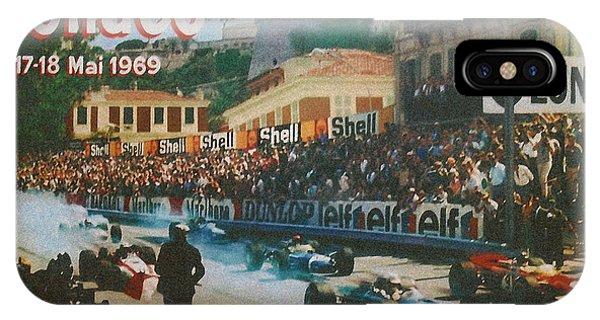 Monaco 1969 IPhone Case