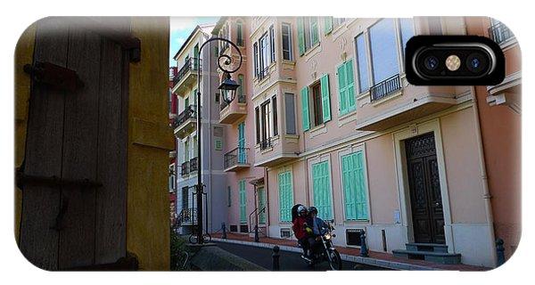 Monaco Alley IPhone Case