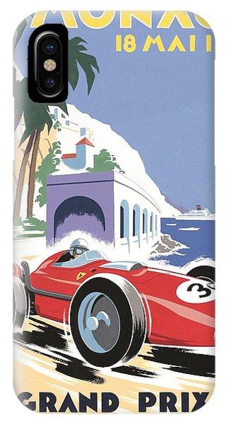 Monaco Grand Prix 1958 IPhone Case