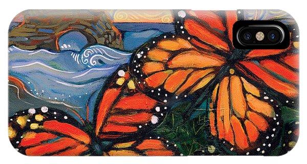 Monarch Butterflies At Natural Bridges IPhone Case
