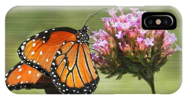 Monarch Flutterby IPhone Case