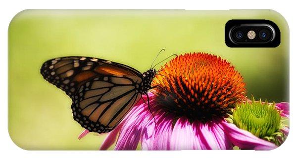 Monarch Glow IPhone Case