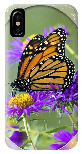Monarch On Astor IPhone Case
