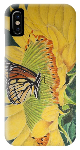 Monarch Summer IPhone Case