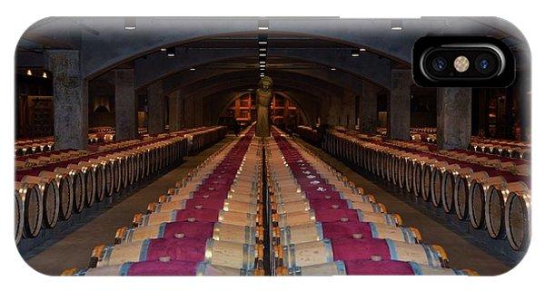 Mondavi Wine Cellar  IPhone Case