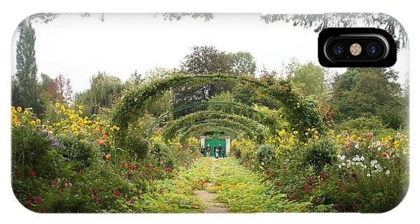 Monet's Garden Giverny IPhone Case