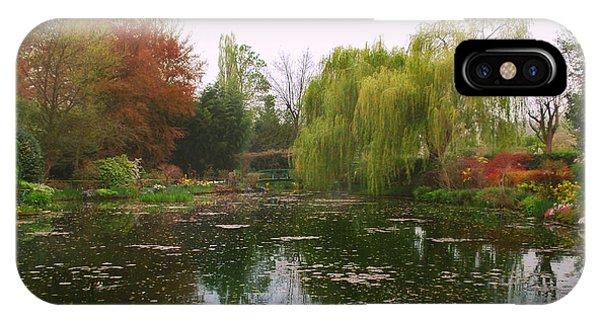 Monet's Gardens L IPhone Case