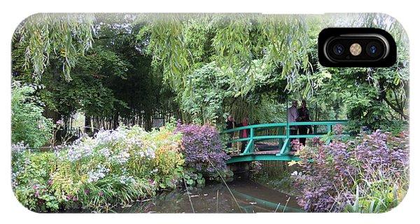 Monet's Japanese Bridge IPhone Case