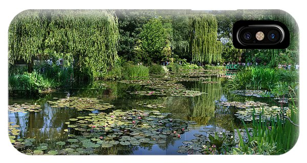 Monet's Lily Pond At Giverny IPhone Case