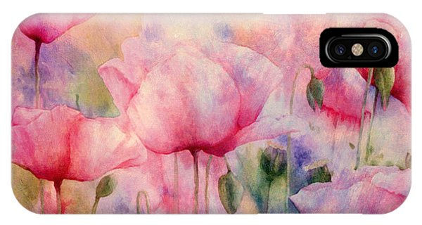 Monet's Poppies Vintage Warmth IPhone Case