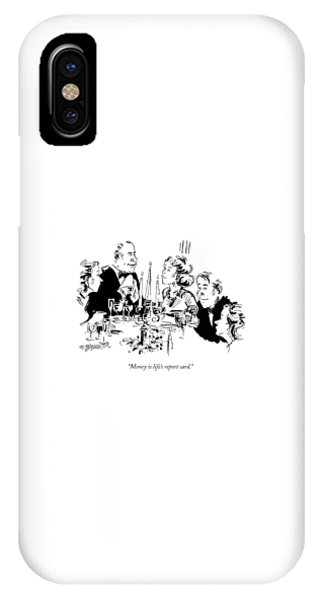 Money Is Life's Report Card IPhone Case
