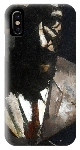 iPhone Case - Monk by Martel Chapman