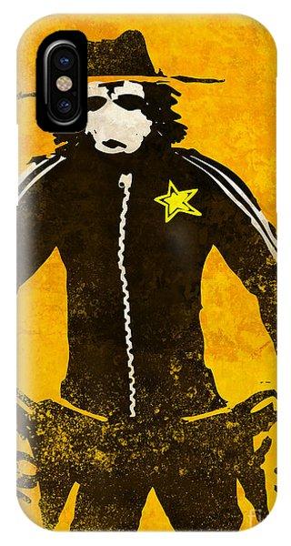 Monkey Sheriff IPhone Case