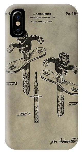 Monkey Toy Patent IPhone Case